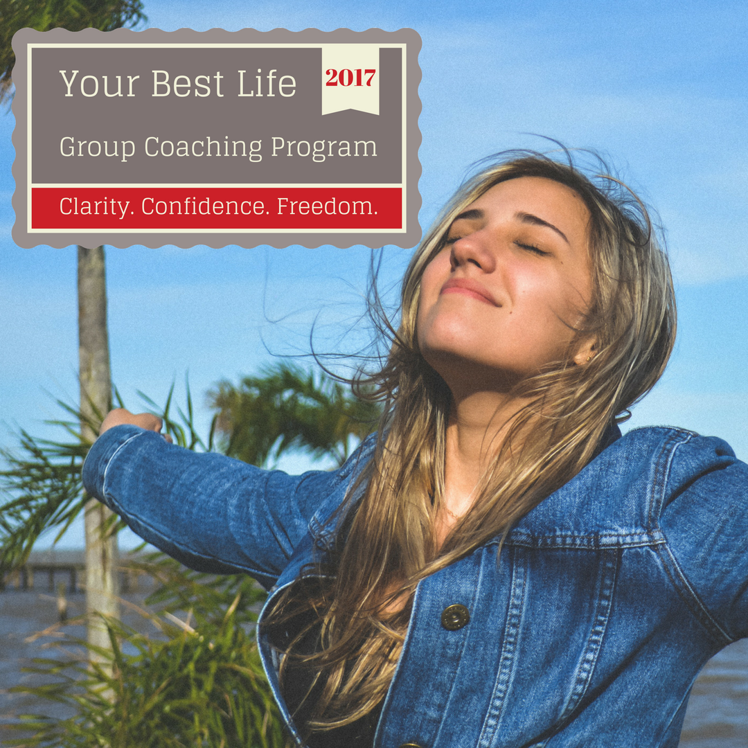 clarity, confidence, freedom, life coaching